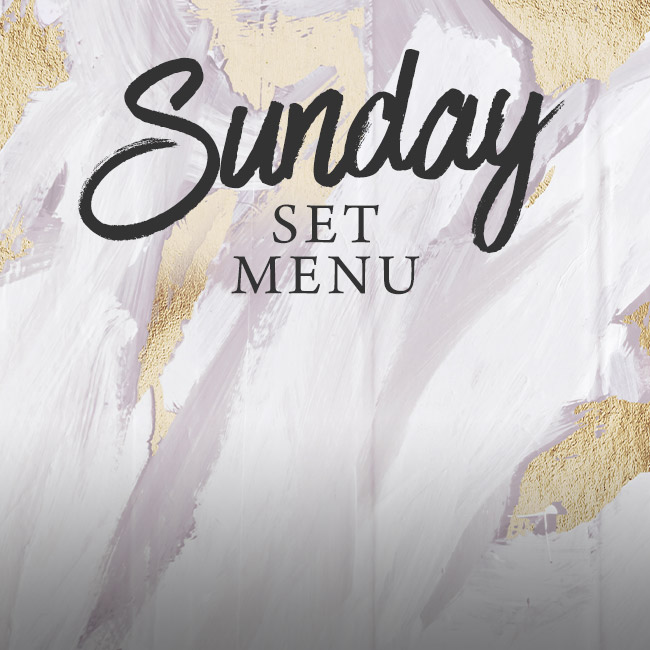 Sunday set menu at The Fox