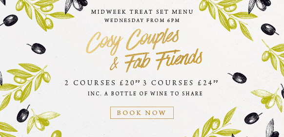 Midweek treat set menu at The Fox